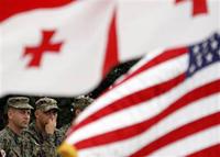 Georgia to please USA with military base deployment