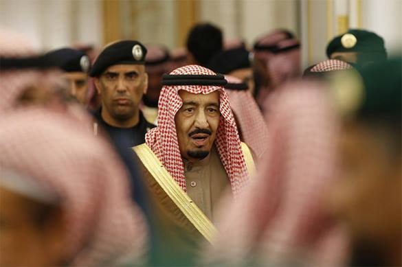 Saudi King approves Turkish activity in Syria. Saudi King