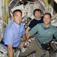 All Astronauts Enjoy First Day Off