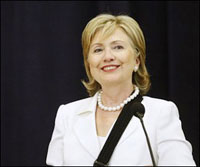 Hillary Clinton Comes to Ukraine Signaling USA's Interest in Post-Soviet State