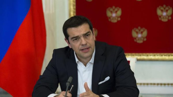 Prime Minister Tsipras wasted a potentially golden opportunity for Greece in Moscow. Greek Prime Minister Tsipras in Moscow