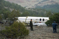 Plane crashes in Turkey; 56 people die