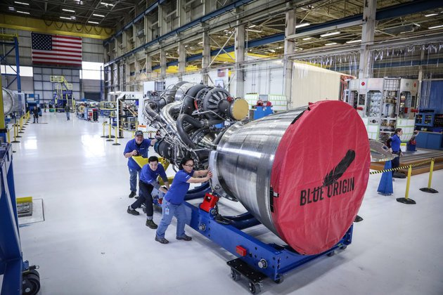US to refuse Russian rocket engines?. Blue Origin