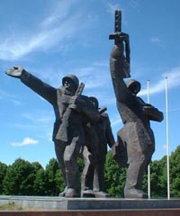 Russian lawmakers criticize Estonia for planned removal of Red Army statue
