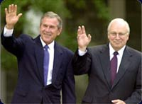 Dick Cheney is five times richer than his boss Bush