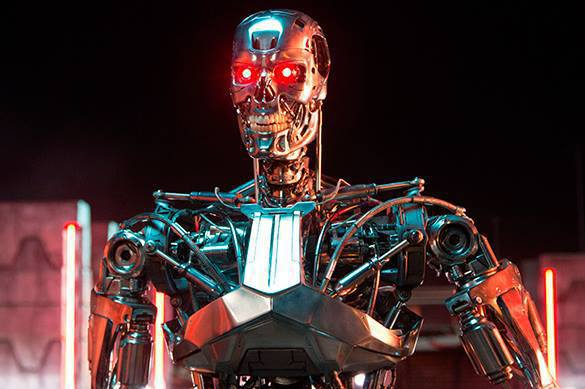 Terminators may destroy mankind with their artificial intelligence. Terminator