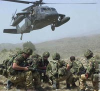 Royal Marines launch dramatic rescue bid to save fallen soldier