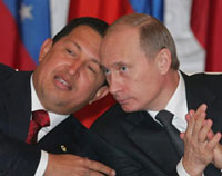 Hugo Chavez makes extremely untimely visit to Russia