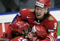 Russia beats United States in U-18 hockey final