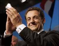 Nicolas Sarkozy named new president of France, promising swift, bold action