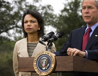 Condoleezza Rice wants Russia to pay a price for Georgia