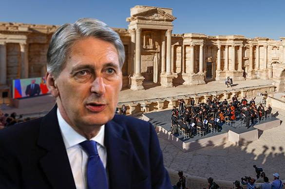 UK Foreign Secretary Hammond: Concert in Palmyra 'tasteless'. 57921.jpeg