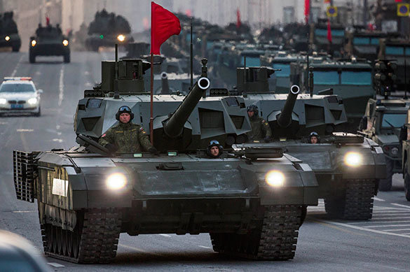 One more tank army to be formed in Russia. Army