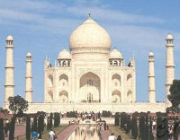 Taj Mahal, India's national symbol, lost many of its priceless treasures through centuries