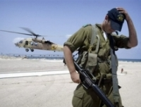 Israeli helicopter launches missiles at  Hamas command center