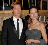 Angelina Jolie and Brad Pitt Spotted in Bosnia