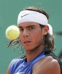 Rafael Nadal Takes Home Wimbledon 2010 Trophy