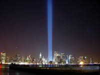 Americans mourn victims of 9/11 attacks