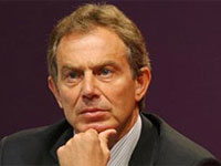 Blair to travel to Mideast next month