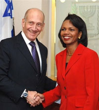 Condoleezza Rice absolutely unable to bring peace to Israel and Palestine