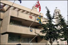 Danish Embassy in Syria reopens