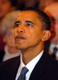 Barack Obama enters 2008 White House race