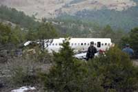 Fifty-six people killed in a plane crash in Turkey
