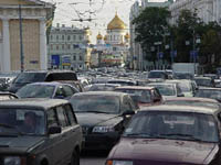 Futuristic Moscow in 50 years: Terrible ecology, traffic jams and no cash