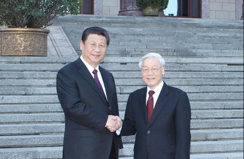 Vietnam - China to boost bilateral relations. 54932.png