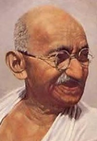 India to bid for independence Gandhi's letter