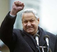 Former Russian President Boris Yeltsin died.He was 76.