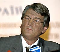 President Yushchenko declares support for pro-Western Orange coalition, its choice for PM