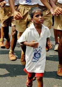 Police halt 5-year-old Indian marathon runner's 100-km walk in searing heat