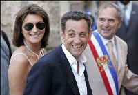 Nicolas Sarkozy takes office as president of France