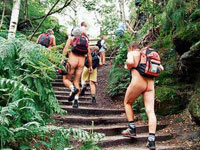 German gets jailed for hiking naked