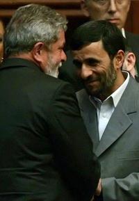 Iranian President Visits Brazil