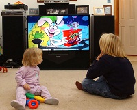 U.S. Children Spend Their Day in front of TV