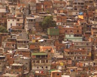 Brazilian president to restore Rio slum