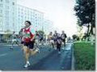 Research: marathon running saves motorists' lives