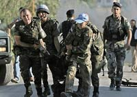 Two NATO peacekeepers die in road accident in Kosovo