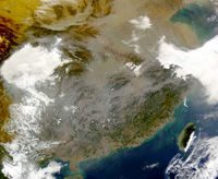 Asia Contributes to American Harmful Air