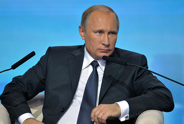 Putin: Russia fears nothing as long as Russians stay strong and united. Russian President Vladimir Putin