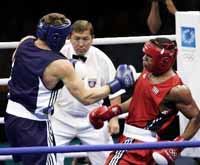 Defecting Cuban boxers' pro debut stymied by visa trouble