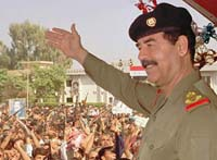 Saddam Hussein Struck Out of History to Split Iraq Even More