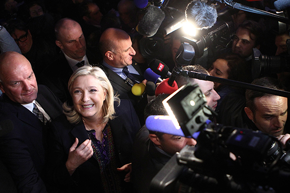 Marine Le Pen's National Front advances even if fails at elections. National Front loses