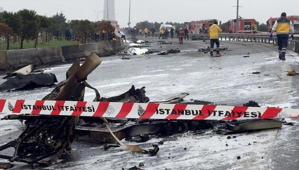 Helicopter with Russian citizens on board crashes in Istanbul, five killed. 59942.jpeg