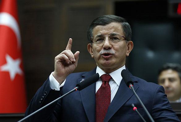 Turkey refuses to withdraw its troops from Iraq. Ahmet Davutoglu