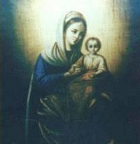 Icon weeps miraculous tears of myrrh