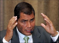 Rafael Correa's popularity to help his allies win election of constitutional assembly