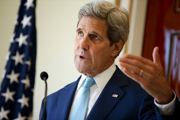 Russia hopes to improve ties with USA during John Kerry's visit to Moscow. John Kerry
